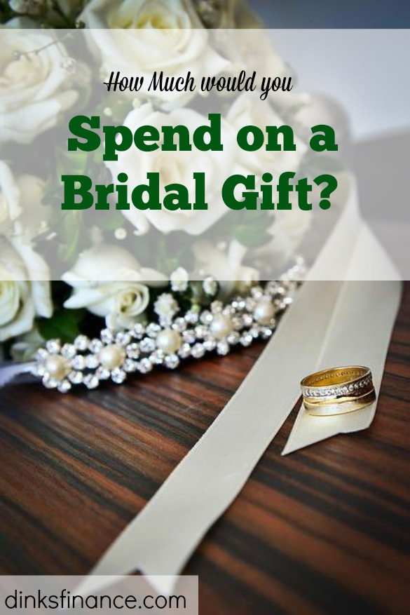 Wedding Gift List Cost : The Outrageous Cost of a Bridal Registry Gift DINKS Finance