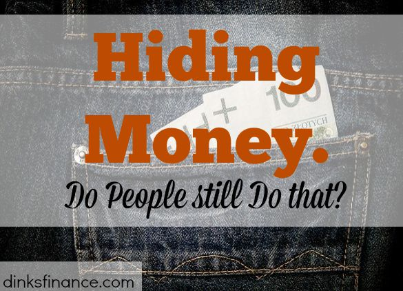 hiding money, safe keeping money, safety deposit