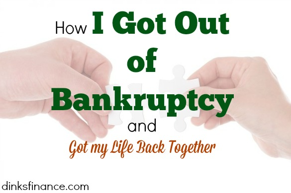 bankruptcy, getting it back together, financial freedom