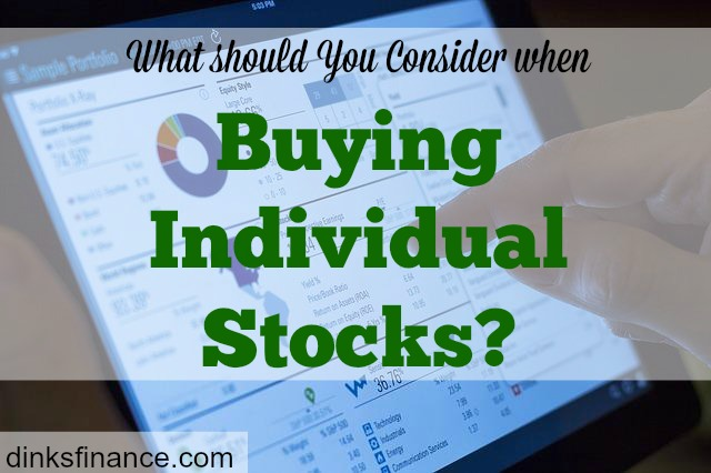 individual stocks, investment, investment portfolio