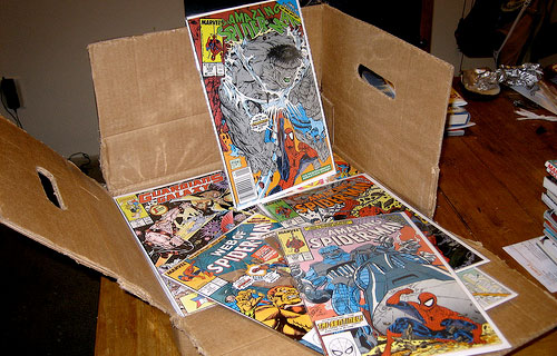 comic books box