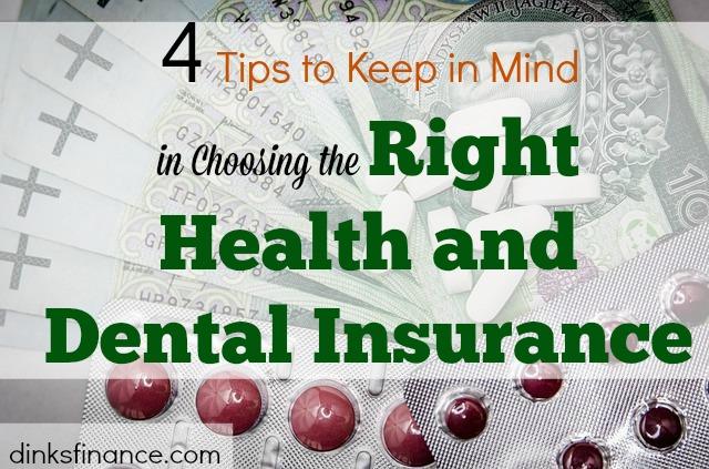 choosing the right insurance, health insurance, dental insurance