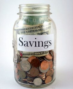 savings jar