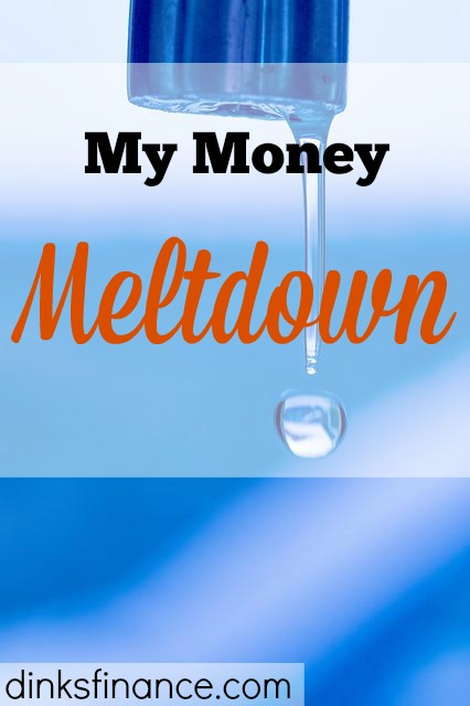 money meltdown, bad day, bad money day,
