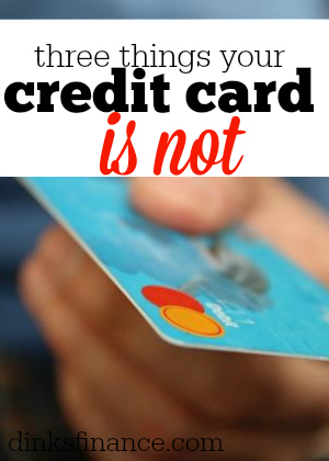 Do you love your credit card? It might be time to break away! Here are three things your credit card is not.