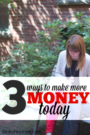 Looking for fast cash? These three ideas can help you make more money today but can also be turned into long term side hustles!