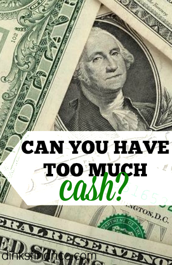 Do you have too much cash? It seems like a funny question but the truth is if you have too much cash you're not making your money work for you!