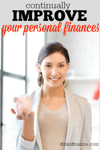 Money only gets better with age. That's why you should be continually looking to improve your personal finances. Here's one way to do it.