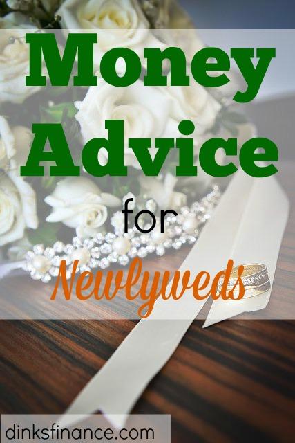 money advice, financial advice, financial advice for newlyweds, financial advice for couples, money advice for couples