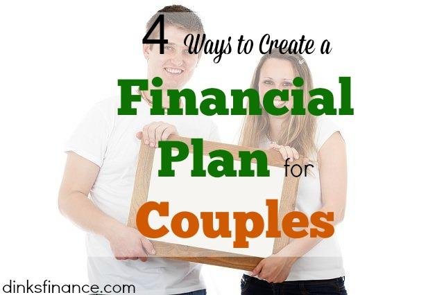 financial plans, couple finances, creating a financial plan