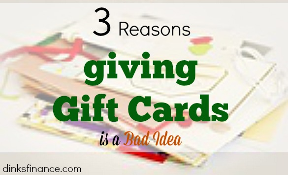 giving gift cards, gift cards, giving gifts