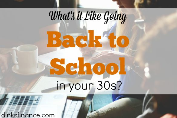 going back to school, studying in your 30s, graduate school