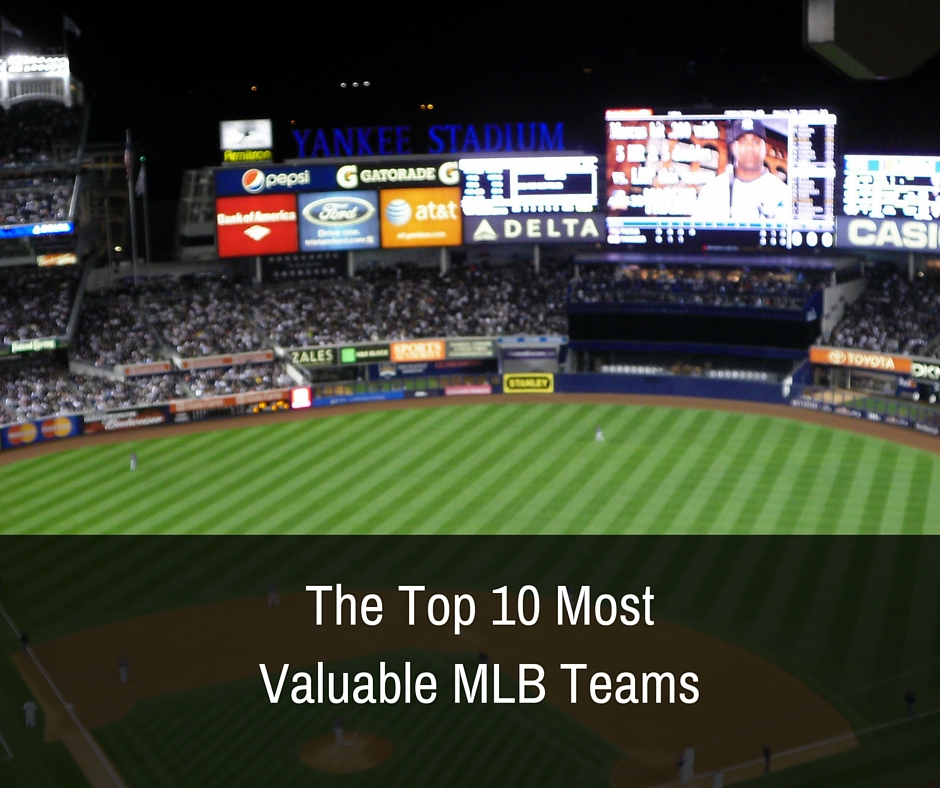 The Top 10 Most Valuable MLB Teams
