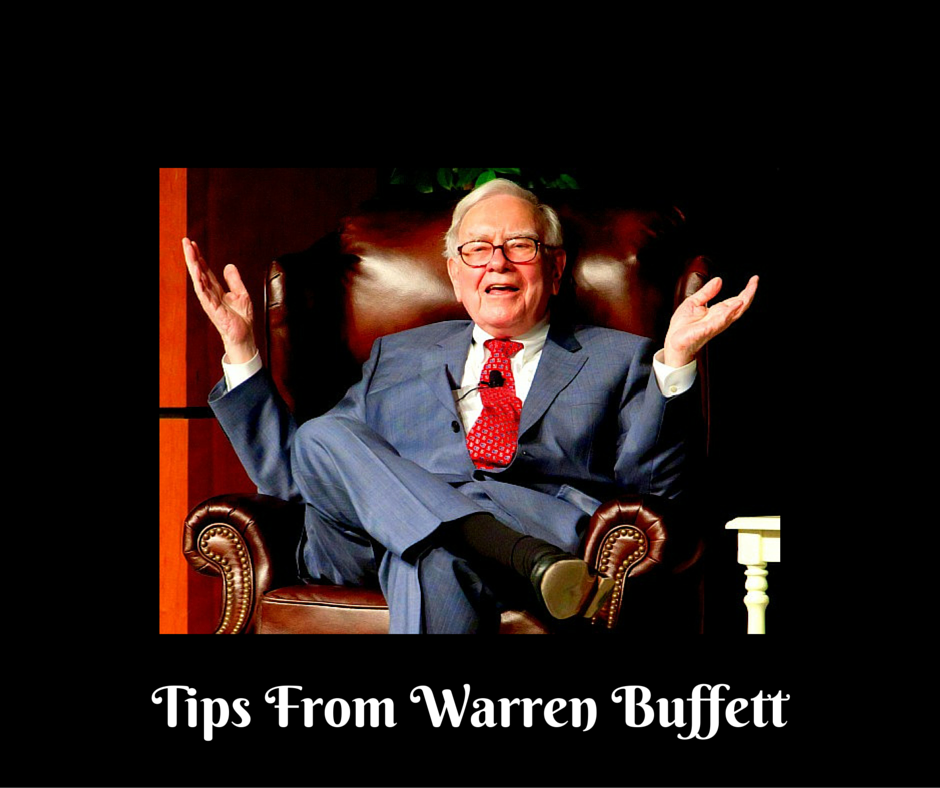 Tips From Warren Buffett