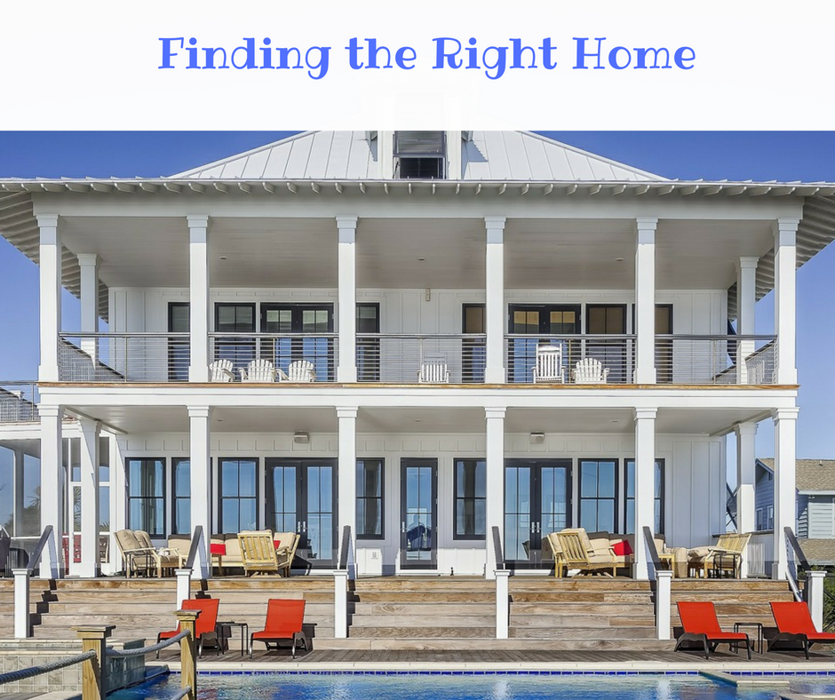Finding the Right Home