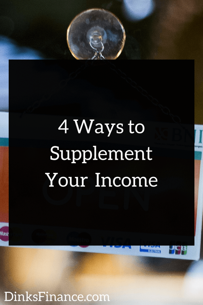 4 Ways to Supplement Your Income