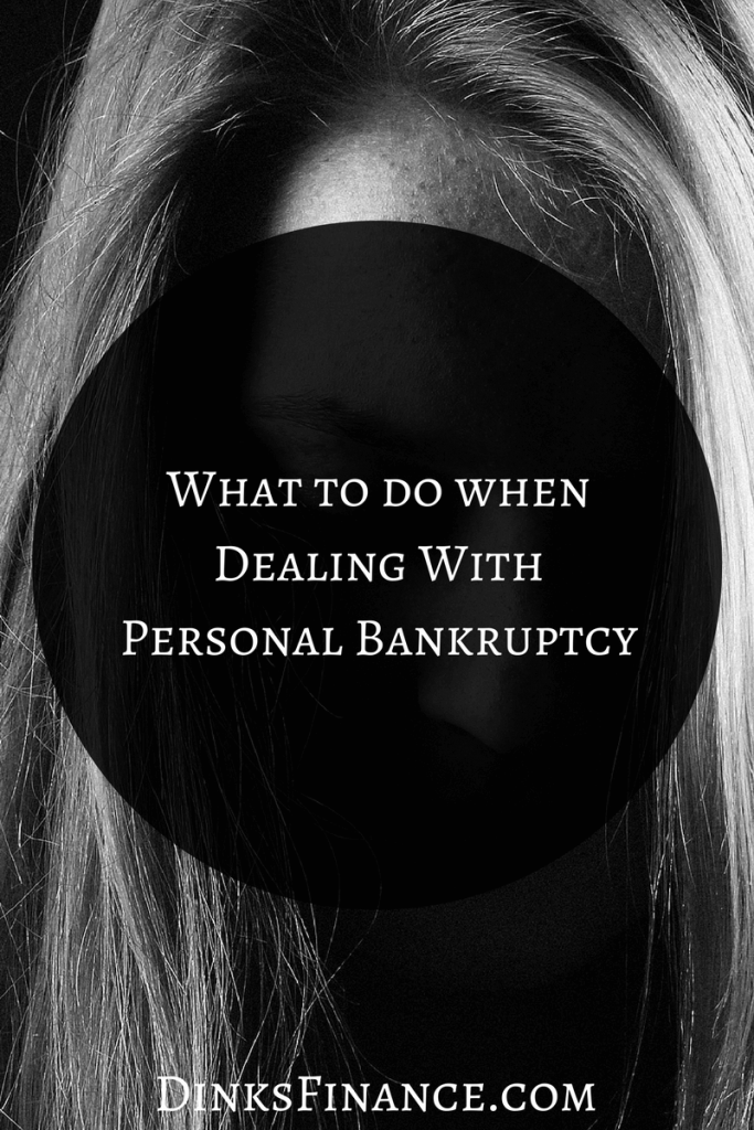 What to do When Dealing With Personal Bankruptcy