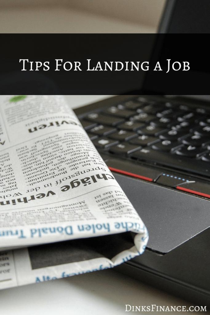 Tips For Landing A New Job