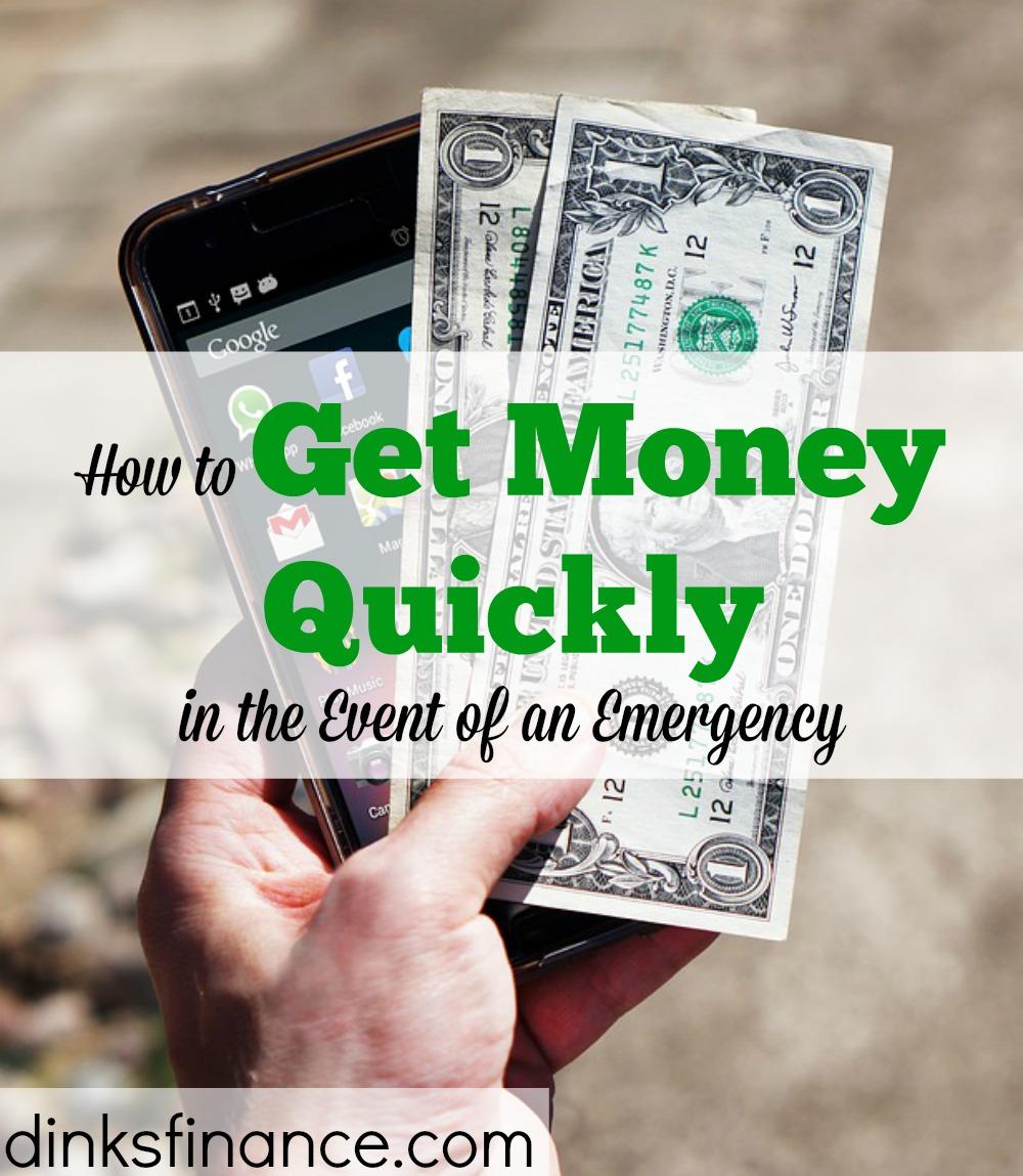 get money quick, quick money tips, money advice