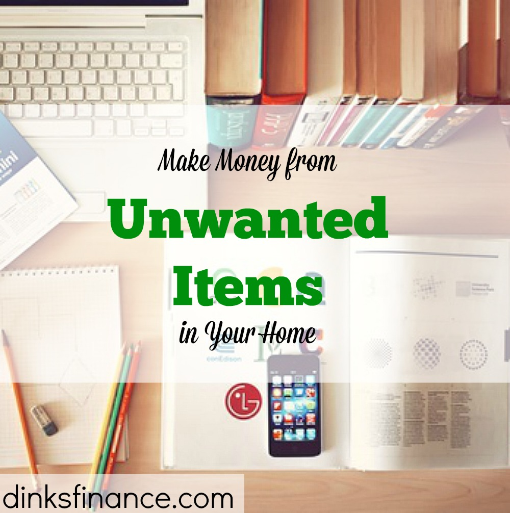 making money, extra income, unwanted items at home