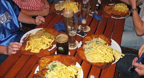 friends, food and beer