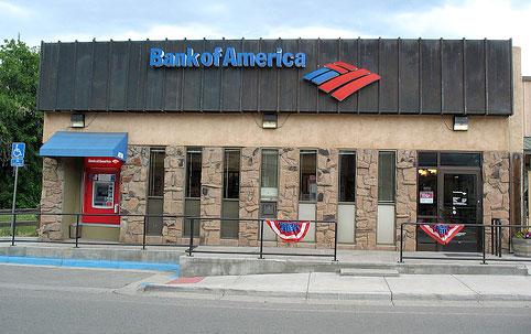 bank of america bank