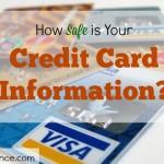 credit card information, credit card details, secured credit card