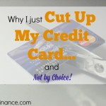 cutting up my credit card, credit card, credit card solution