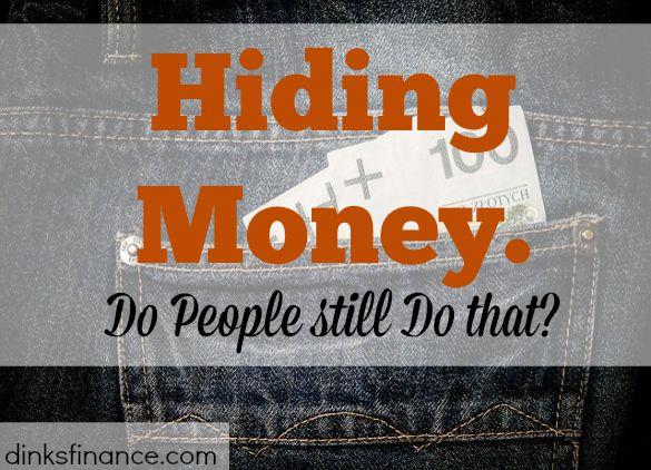 hiding money, safe keeping money, safety deposit