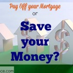 pay off mortgage, save money, finances