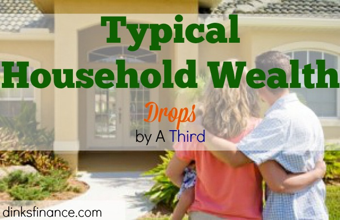 household wealth, typical household, household finances