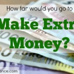 extra money, extra income, side hustle, part-time job