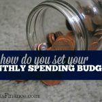 How do you set your budget? Here's how I come up with mine as well as a few things I regularly save on.