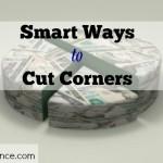 cut corners, saving money, budgeting, personal finance, family finances