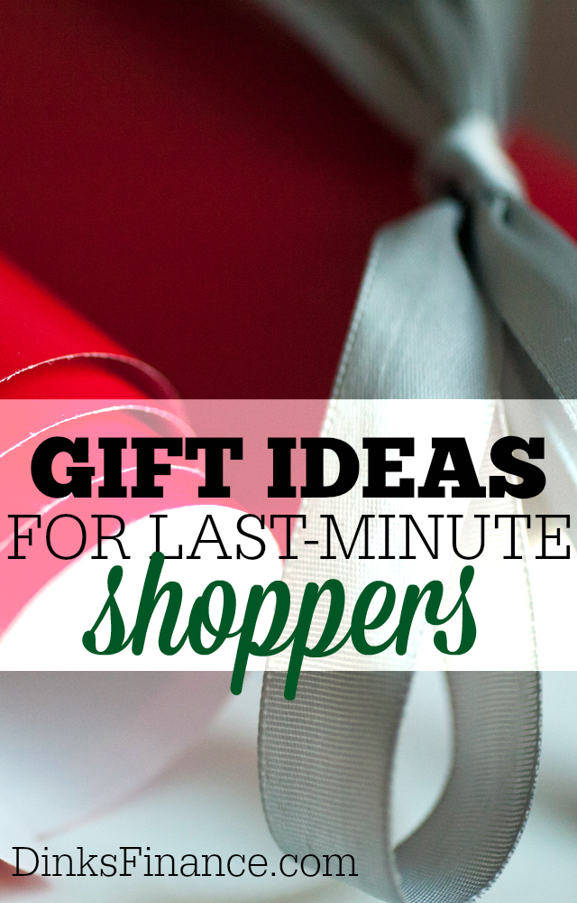 You're running out of time to get your holiday shopping done? Clueless as what to buy? Try these gift ideas for last minute shoppers.