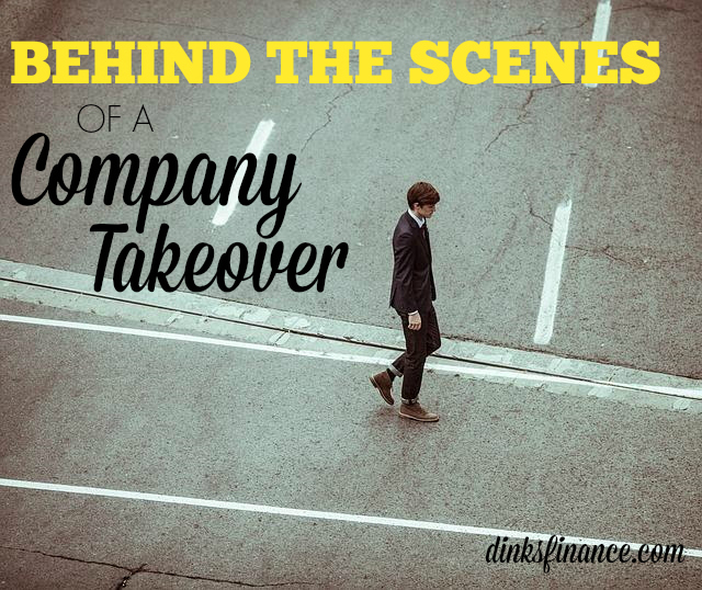 Ever wonder what goes on behind the scenes of a company takeover? Here's a sneak peek of how management and employs act.