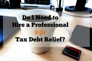financial advisor, tax debt relief, filing taxes, personal finances