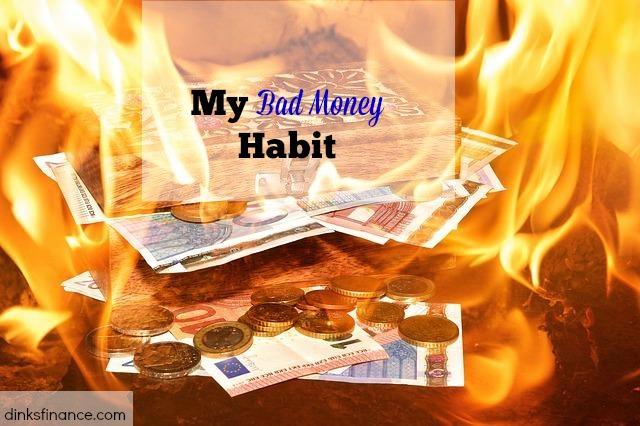 bad money habit, spending money, overspending money