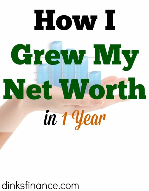 net worth, growing net worth, saving money