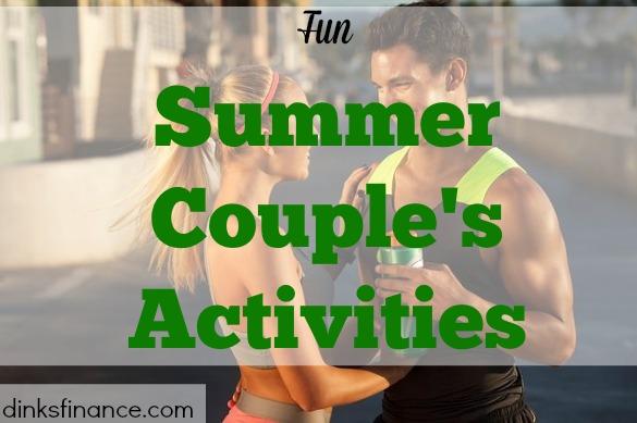 couple's activities, summer activities, being active