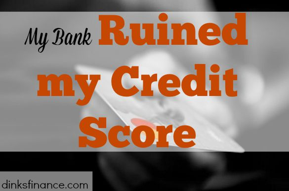 ruined credit score, credit score, bank problems