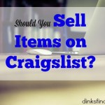 craigslist, selling items online, selling items