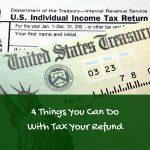 tax refund, using tax refund wisely, smart ways to use tax refund
