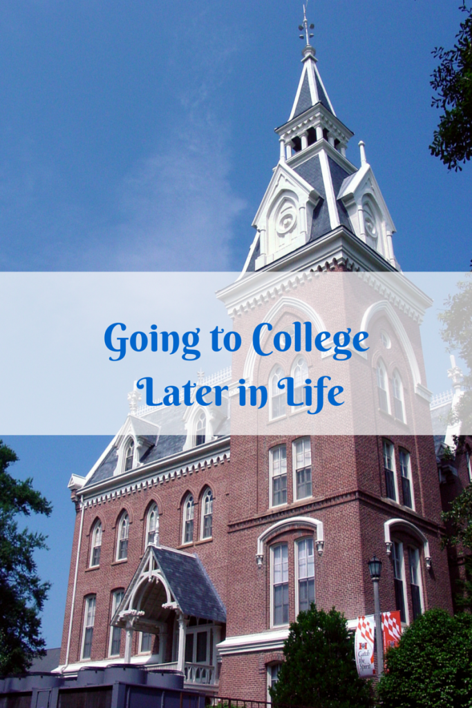 Going to College Later in Life