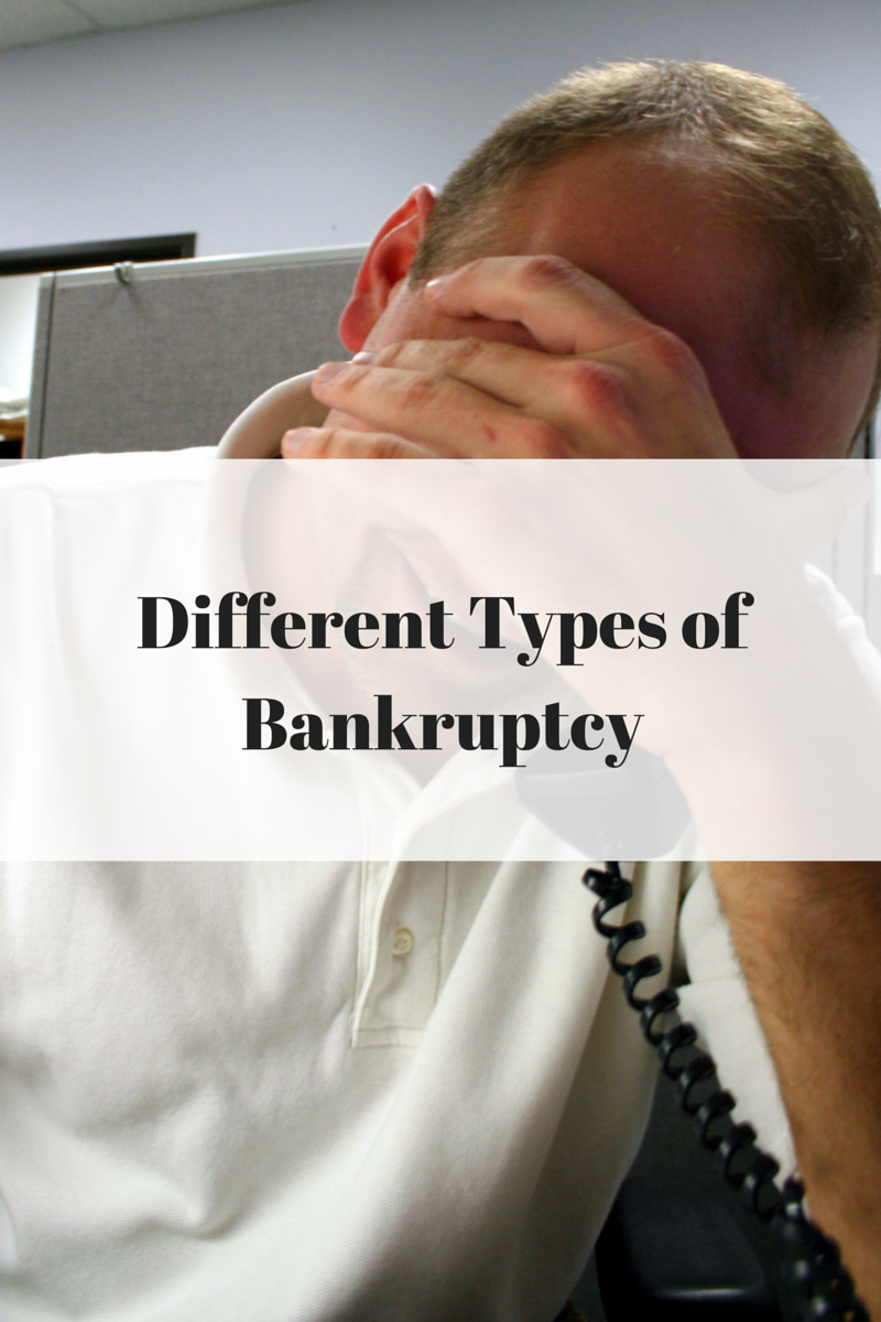 types of bankruptcy Chapter 13 and chapter 7 under the us bankruptcy code allow individuals to file for bankruptcy and either develop a payment system or discharge debt entirely.