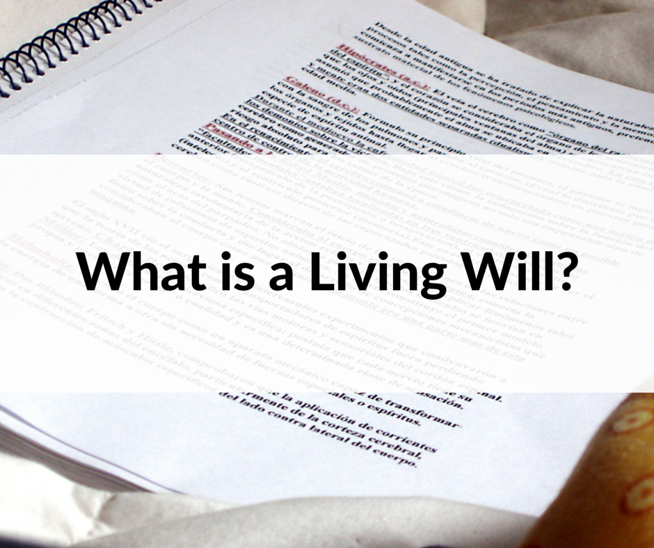 What is a Living Will-