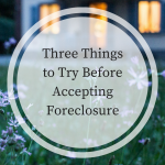 foreclosure tips, getting foreclosed, property foreclosure