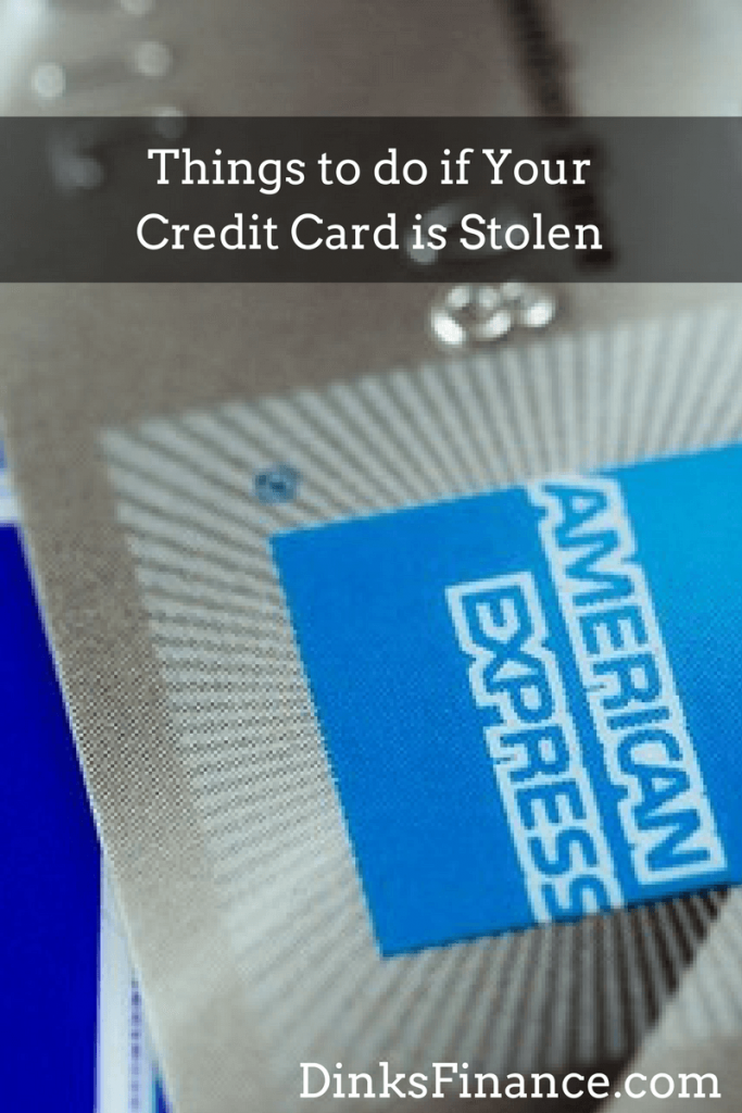 Things to do if Your Credit Card is Stolen