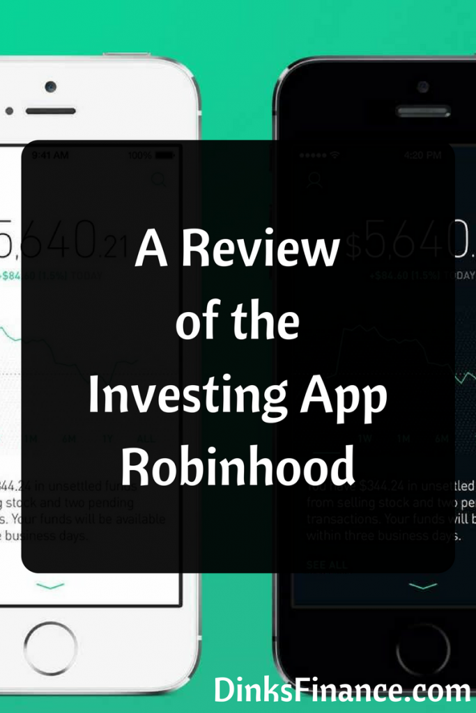 A Review of the Investing App Robinhood