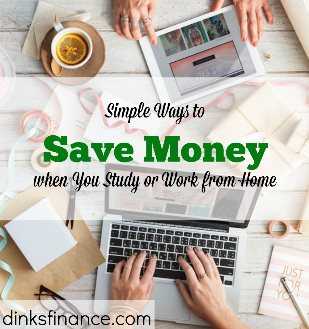 saving money at home, saving money while you study, simple ways to save money